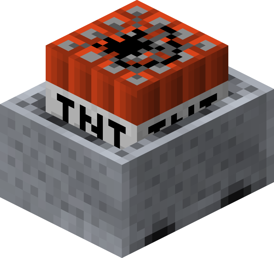 Minecraft tnt png. Minecart with official wiki