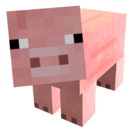 Minecraft pig png. Image fanfictions wiki fandom