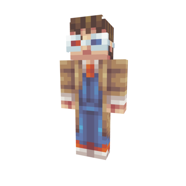 Minecraft png skin viewer. Tenth doctor aemadpng