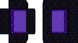 Nether portal png. The official minecraft wiki