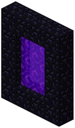 Minecraft portal png. Nether official wiki