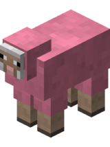 Pink sheep png. Official minecraft wiki sheeppng