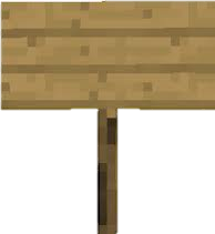 Minecraft sign png. Image conception wiki fandom