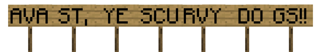 Minecraft sign png. Versatile signs suggestions java