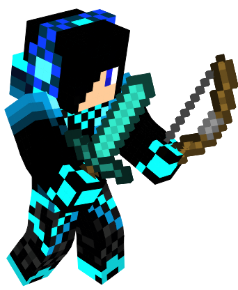 Minecraft skin png. My animated by neongaming