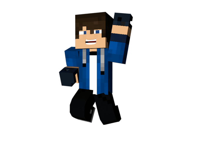 Minecraft skin png. Do a d model