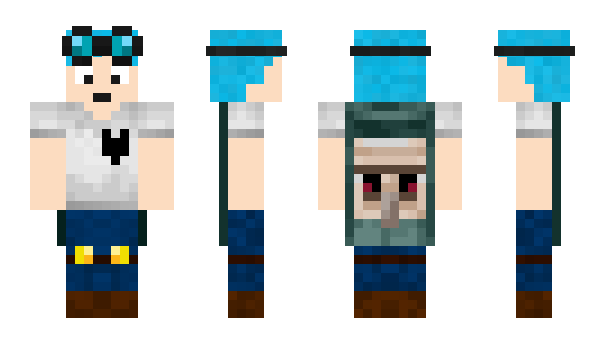 Minecraft skin png download. Dantdm x steve