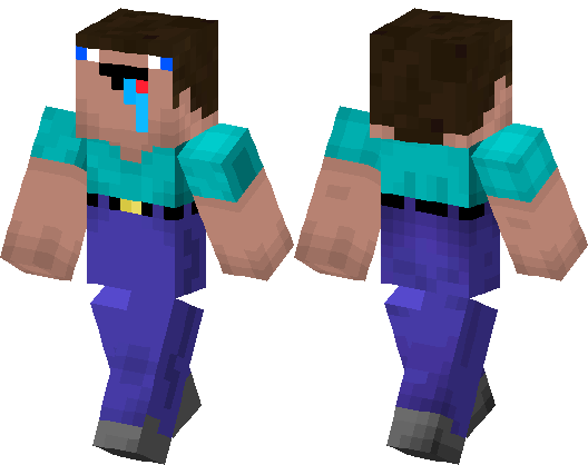 Minecraft skin png download. Noob steve hub