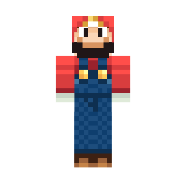 Minecraft skins png. Top download the mario