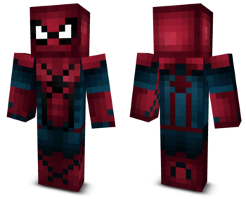 Minecraft skins png download. Free spiderman