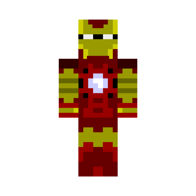 Minecraft skins png download. Top the iron man