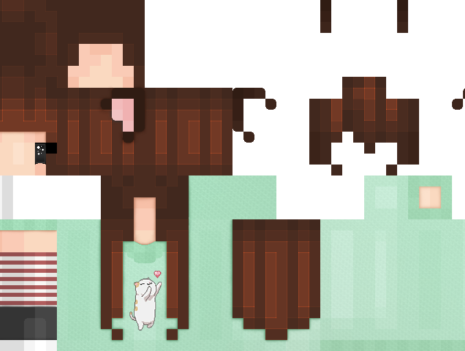 Minecraft skins png download. Cute girl gallery drawing