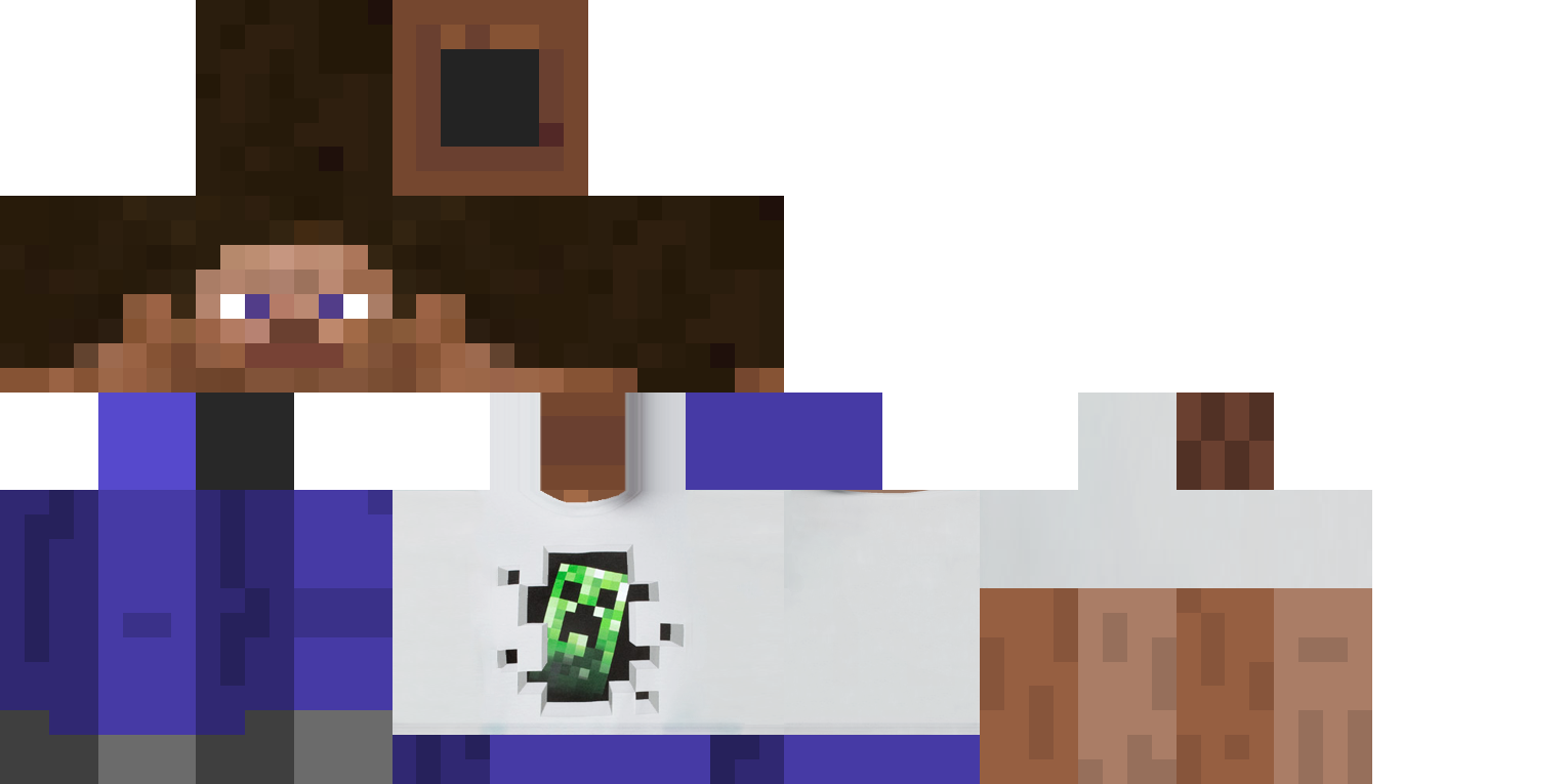 Minecraft skins png download. Wtf creeper t shirt