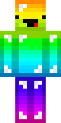 Png files for minecraft skins. Derpy rainbow guy ollie