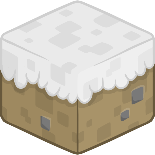 Minecraft snowfall png. Snow icon clipart image