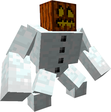 Minecraft snowfall png. Mutant snow golem by