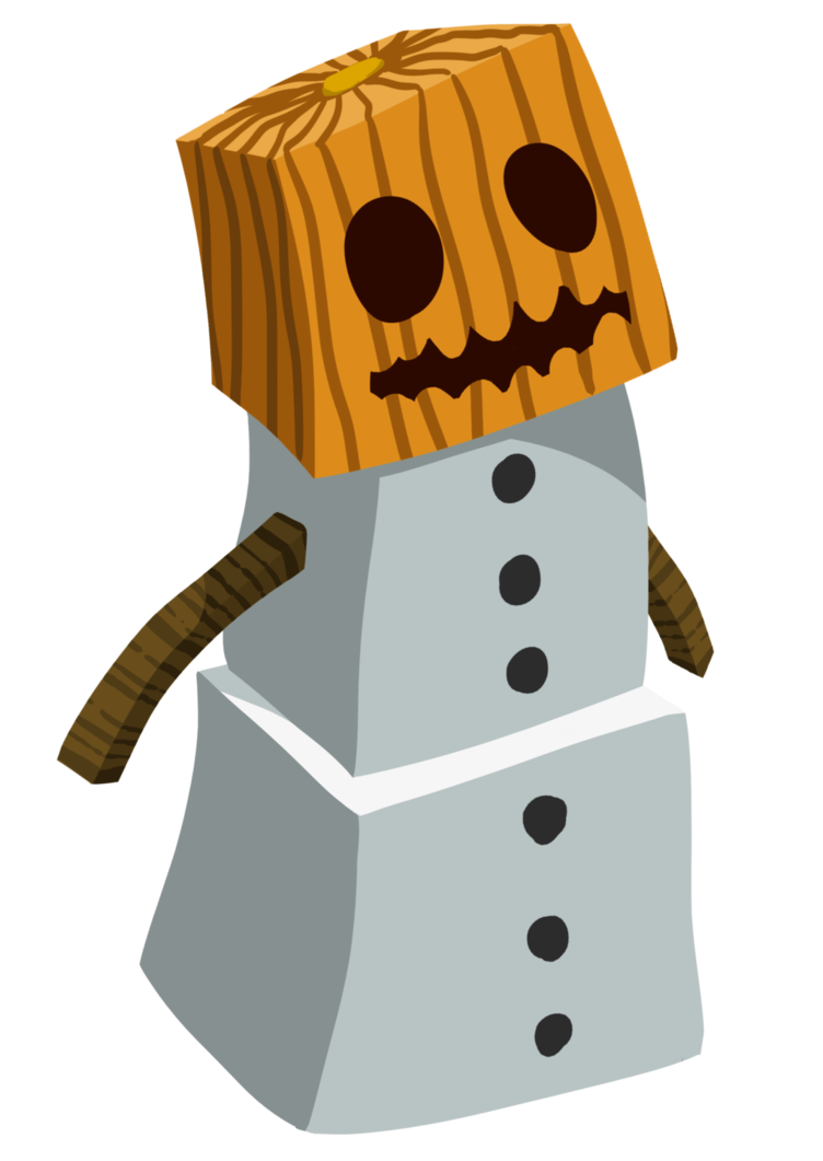 Minecraft snowfall png. Snow golem by regalchaos