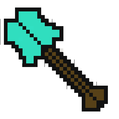 minecraft spade png