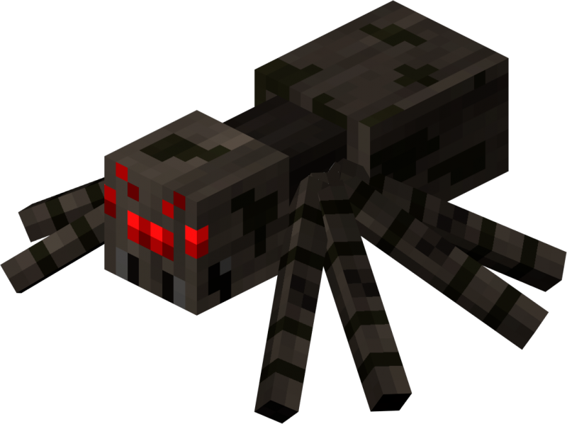 Minecraft spider png. Image plants vs zombies