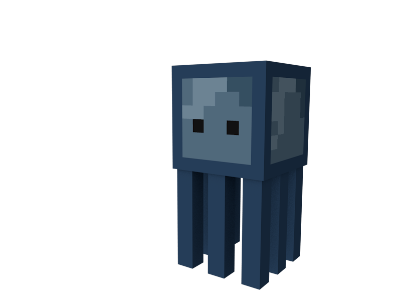Minecraft squid png. Supporters better squids