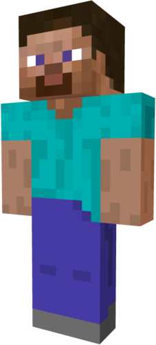 Steve transparent clip art minecraft. Google search halloween costume