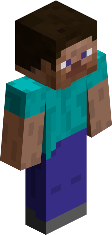 Minecraft steve head png. How creator persson almost