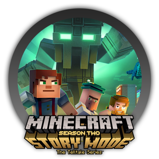 Minecraft story mode logo png. Season two icon by