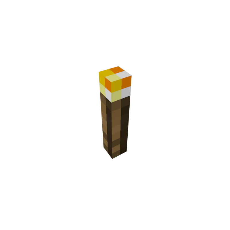 Minecraft torch png. Build your own glowing