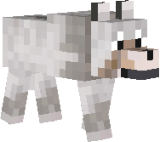 Minecraft wolf png. Diary of free books