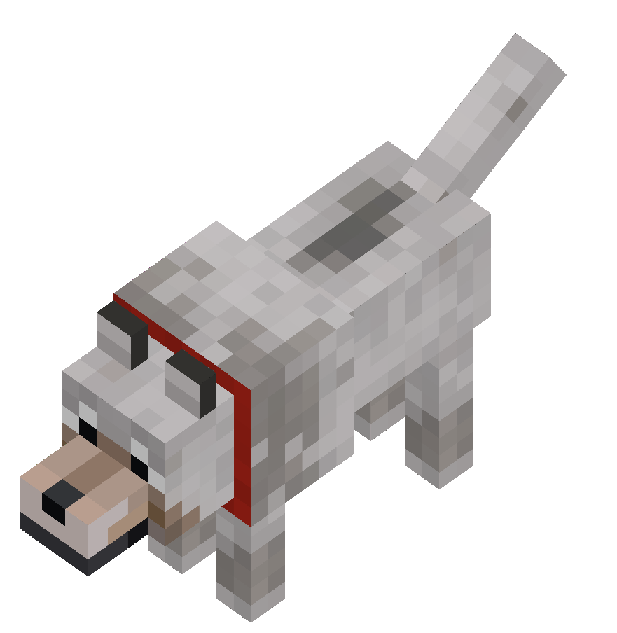 Minecraft wolf png. File tamed official wiki
