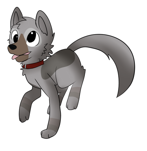 Minecraft wolf png. My by skact on