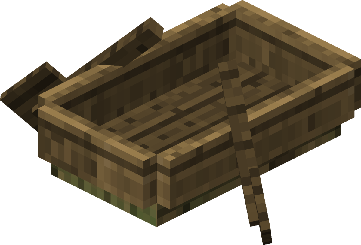 Minecraft wood png. Boat official wiki