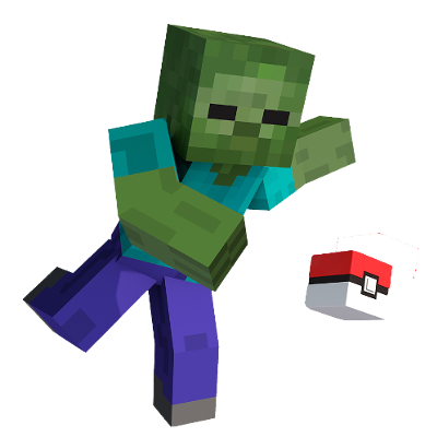 Minecraft zombie png. Overview ore mods projects