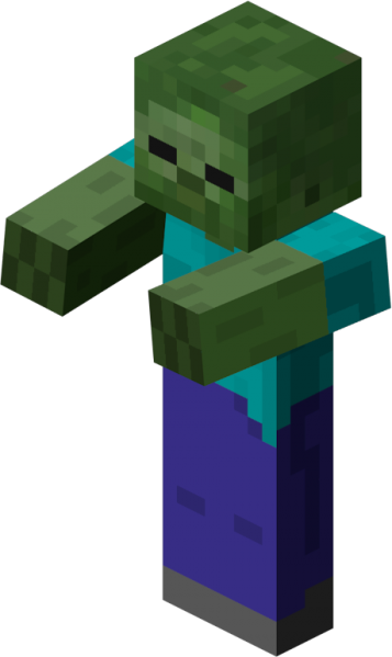 The giant zombies png. Image zombie minecraft wiki