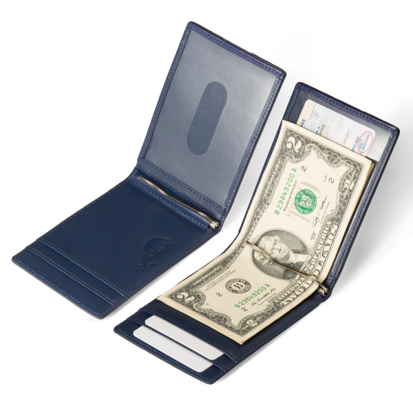 Wallet transparent cash only. Slim with money clip