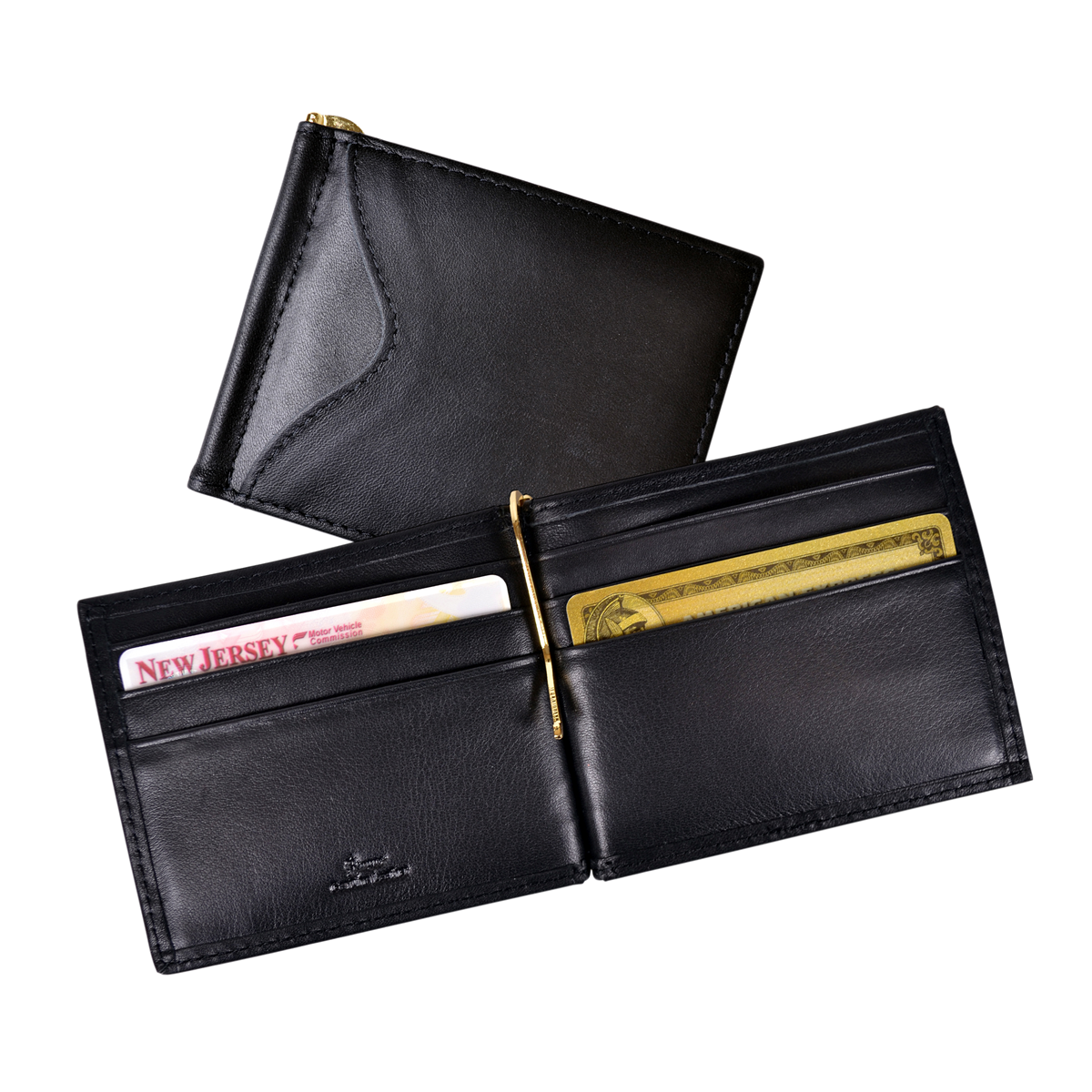 Miney clip branded. Money credit card wallet