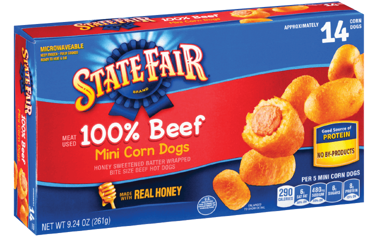 Mini corn dogs png. Beef minis state fair