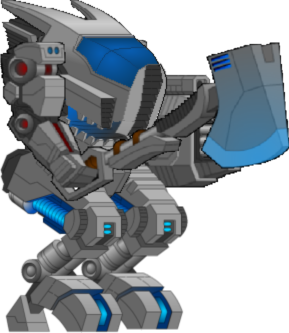 Minigun drawing mech. Park sprites and stuff