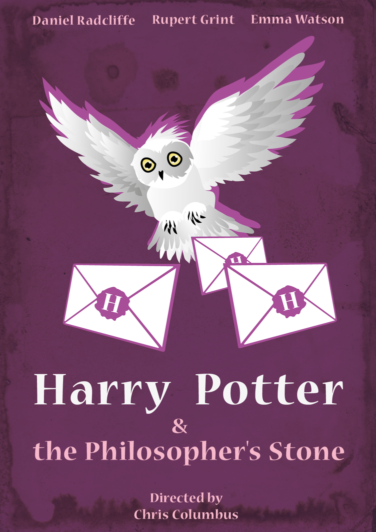 Minimalist transparent harry potter. Poster by ladybird on