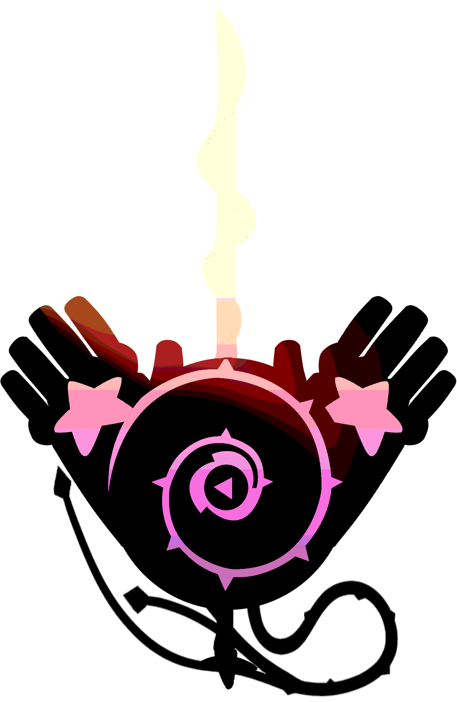Minimalist transparent steven universe. The crystal weapons by