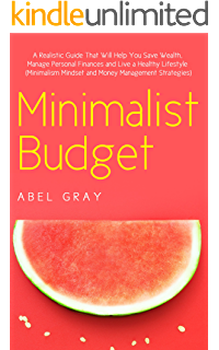 Minimalist transparent watermelon. Money makeover simple guide