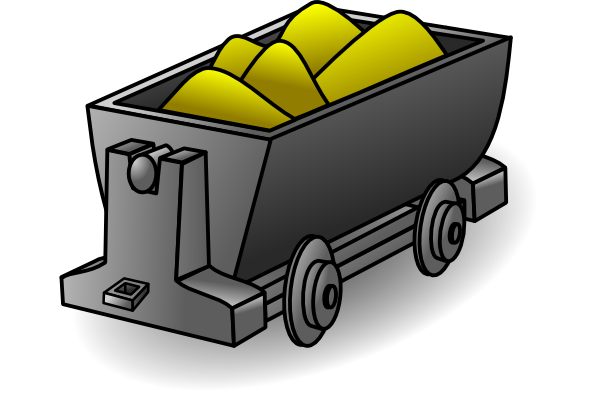 Pick clipart gold mining. Mine pictures clip art