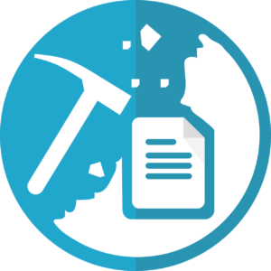 Mining clipart symbol. Text and data in