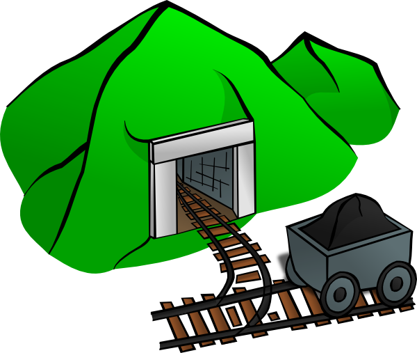 Mining drawing clipart. Mine clip art at