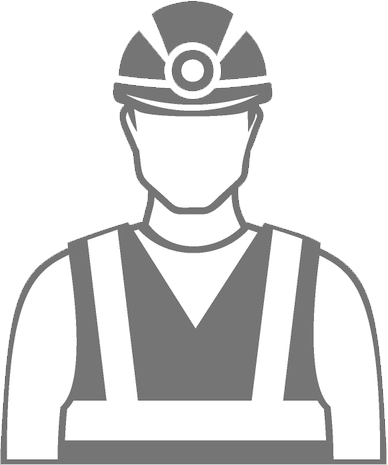 Mining drawing mines safety. Image black and