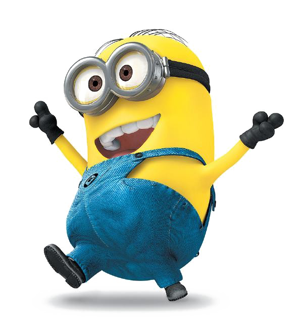 Vector minion background. Happy minions png image