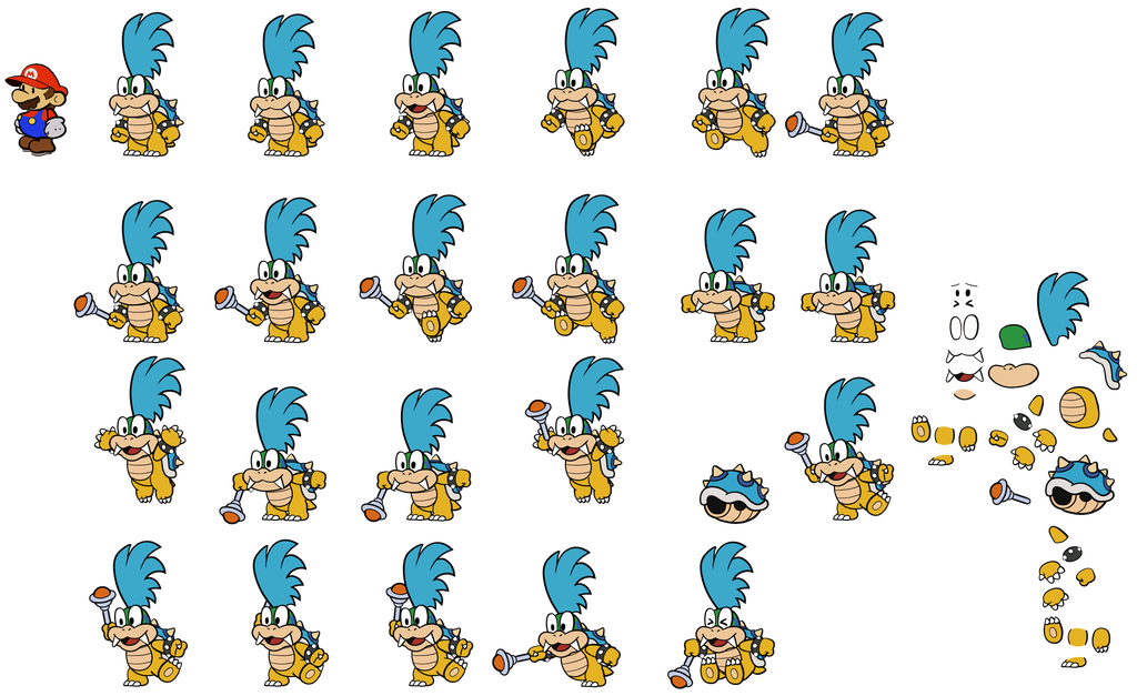 Minion clipart larry. Cs version paper mario