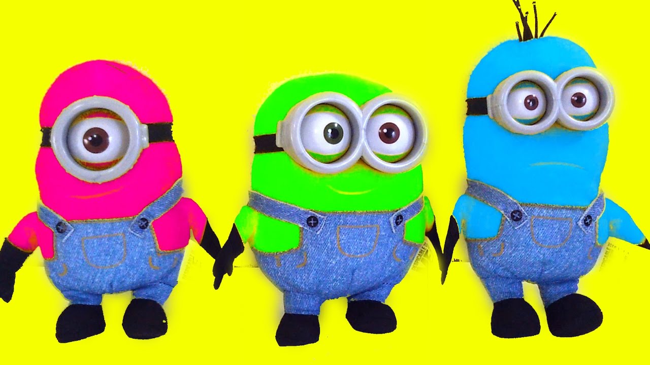 Minion clipart larry. Best learning colors video