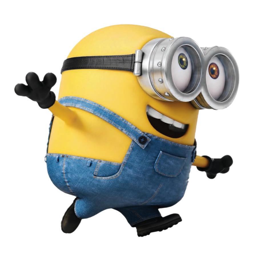 Minion clipart yellow minion. Transparent bob png picture