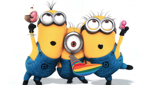 Minion clipart thank you. Despicable me minions x